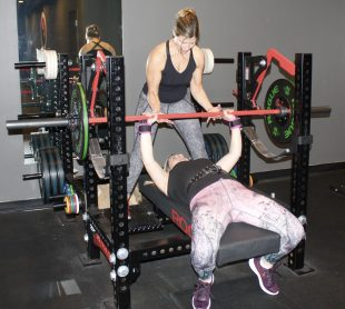 Lisa Personal Training Jeralyn at Boston TKD Fitness