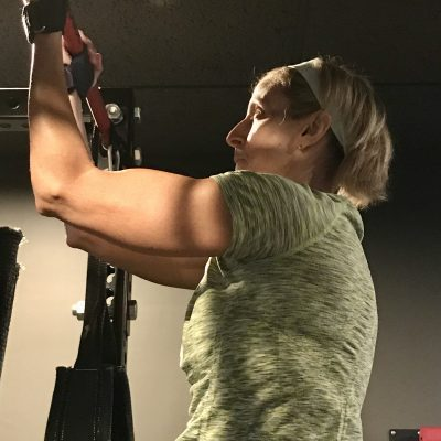 Marie personal training page