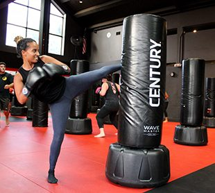Kickboxing at Boston TKD Fitness